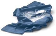 Tričko SLS loziska, rastrový motív strieborná farba