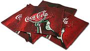 Podnosy Coca Cola, plnofarebná sieťotlač CMYK