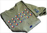 Tričko ESET, sieťotlač, grafický motív, solo farby