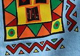 6-farebná sieťotlač na tričko