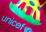 Tričko UNICEF s plnofarebnou potlačou
