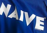 Modré tričko NAIVE, sieťotlač