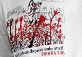Hudobné tričko Trojka Zuzany Homolovej, sieťotlač