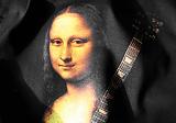 Gioconda, Mona Lisa. Originálne tričko s digitálnou tlačou.