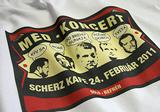 Skupina Med (design Vlado Holina) Hudobné tričko s potlačou