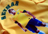 Športové tričko Neymar, Priama digitálna tlač