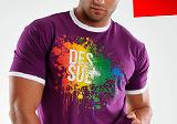 Potlač trička DESSUE , Digitálna tlač na tričko