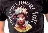 Tričko Majka z gurunu: Real Stars Never Fall , Digitálna potlač trička