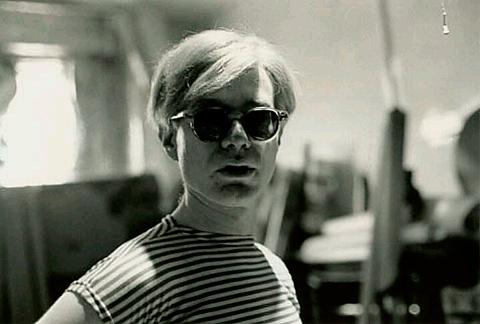 Andy Warhol v námorníckom tričku