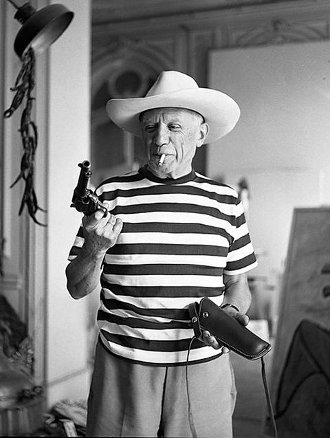 Pablo Picasso - Námornícke tričko