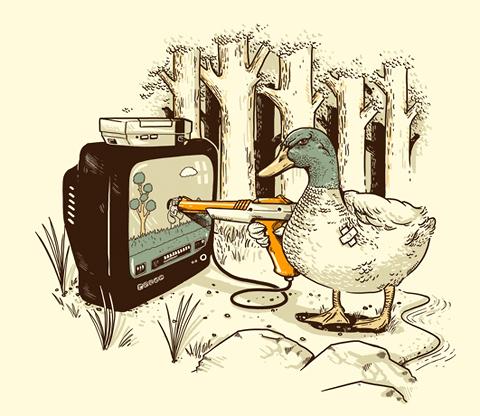8 Bit Vendetta. That duck is cheating.
