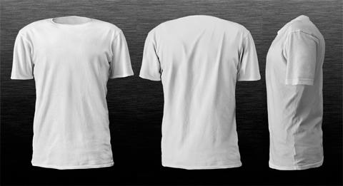 Príklad: Šablona - tričko na navrhovanie potlače
