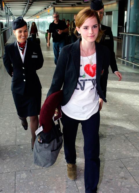 Emma Watson: I Love New York
