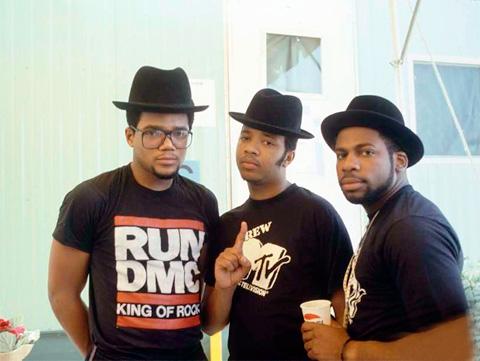 80-te roky: Hudobné tričká RUN DMC a MTV