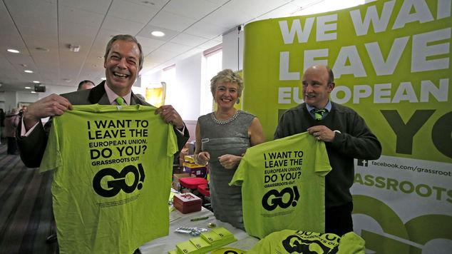 Nigel Farage: I VOTE LEAVE