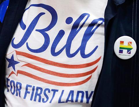 Volebné tričko Bill For First Lady
