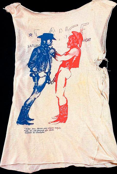 Tričko pod názvom Cowboys z roku 1976, autor: Vivienne Westwood