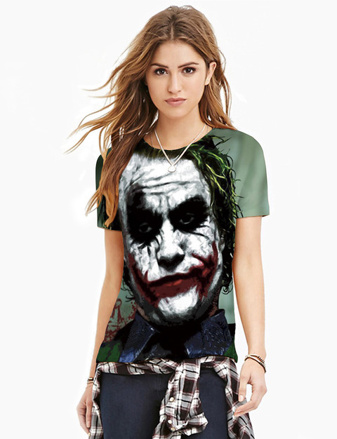 Klaunovský dizajn trička