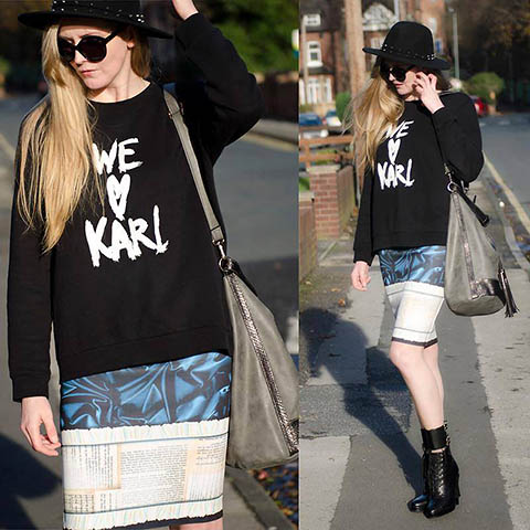Tričko we Love Karl