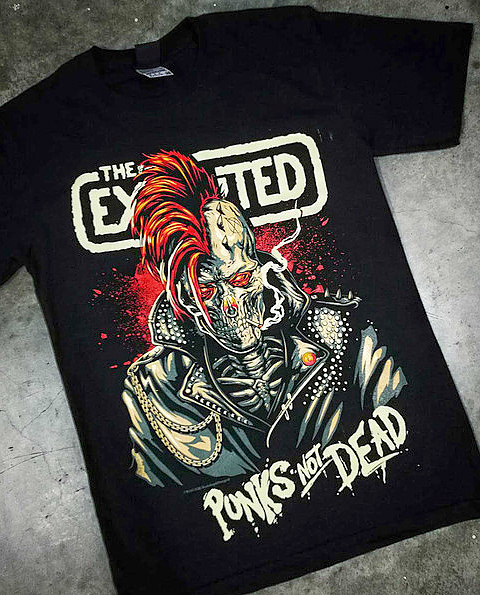 Tričko Punks Not Dead - The Exploited
